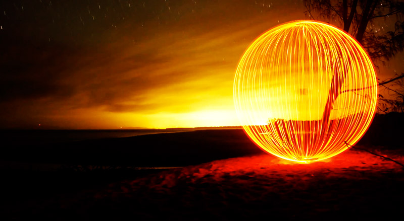El arte del Light Painting